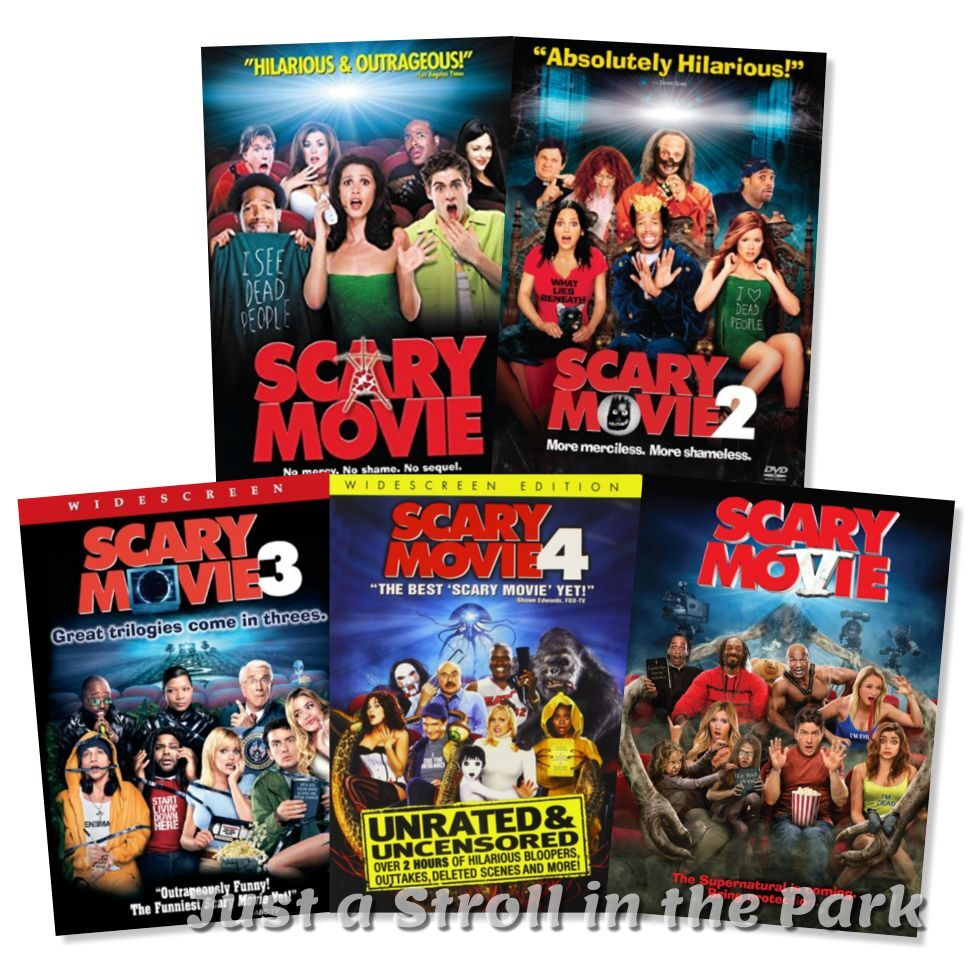 scary movie the complete movie collection 1 2 3 4 5 box