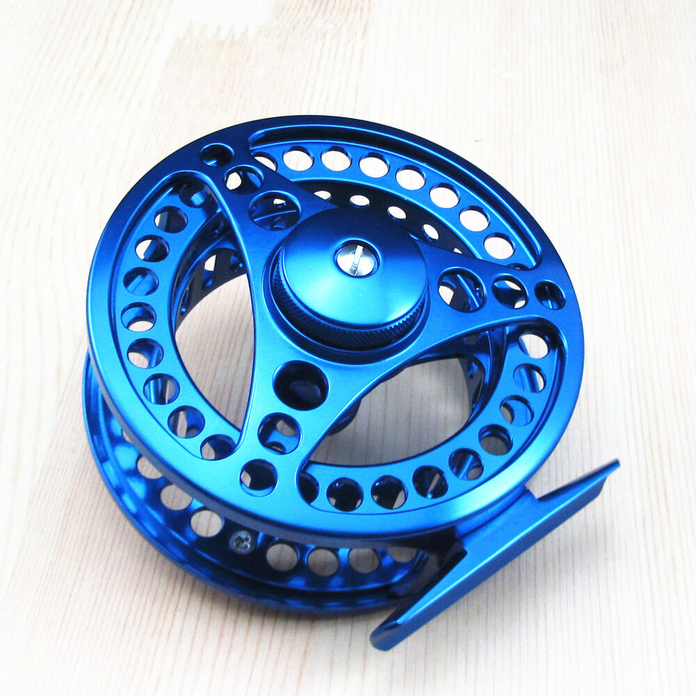 7 8 cnc machined aluminum fly fishing reel adjustable drag for Fly fishing reels ebay