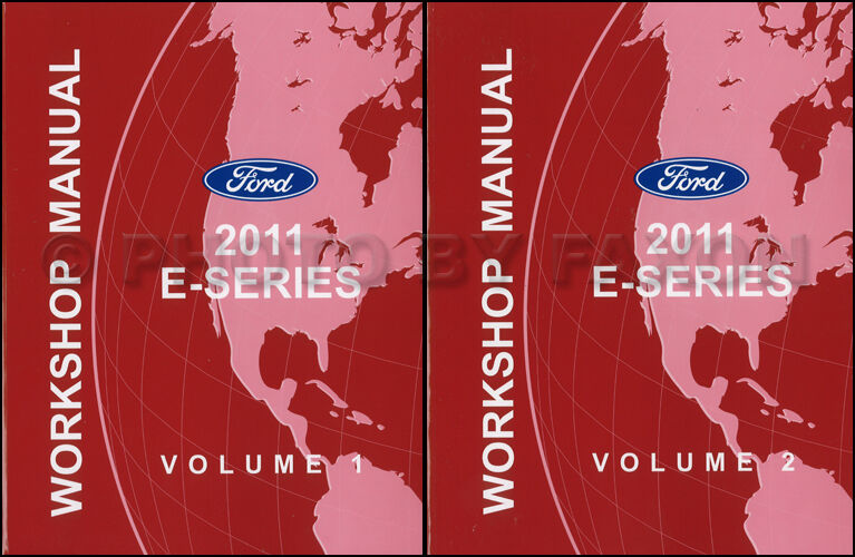 2011 Ford Econoline Shop Manual Set E150 E250 E350 E450