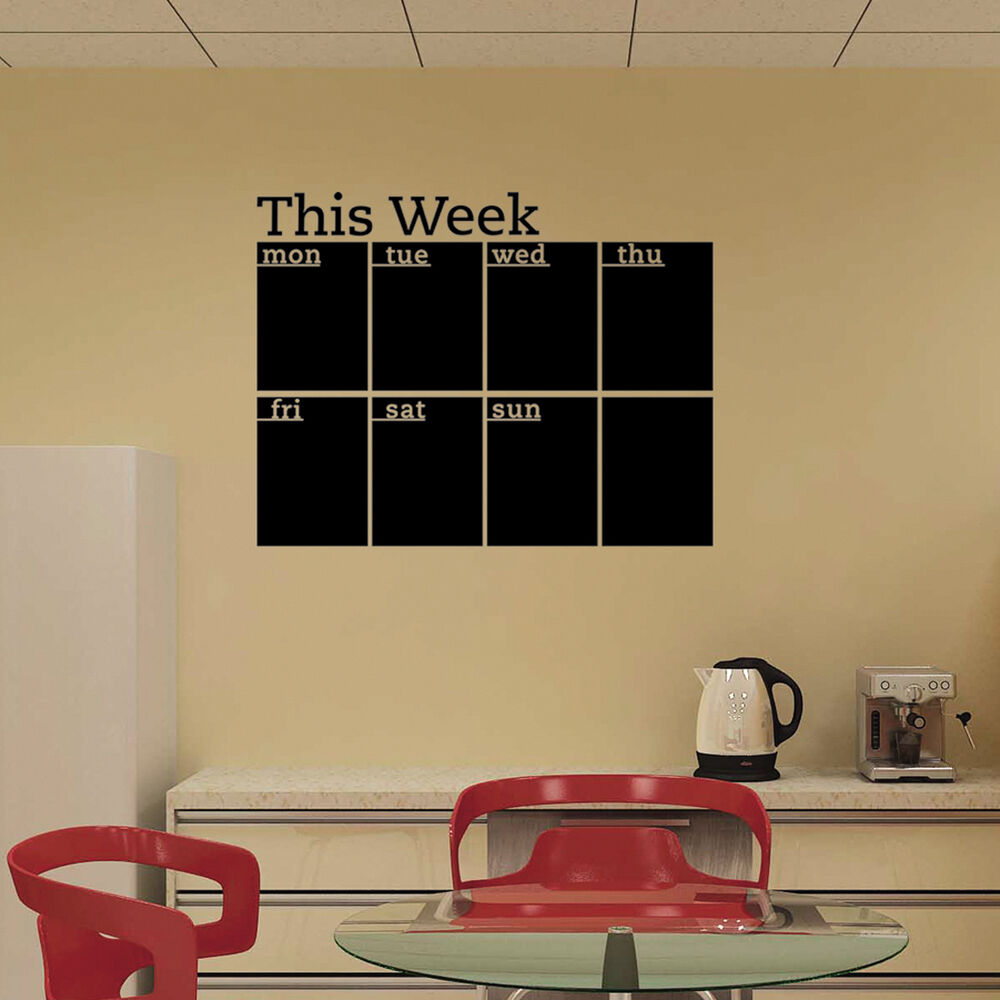 calendar wall stickers 7 decals home office college dorm wall calendar the little mole wall sticker 2month