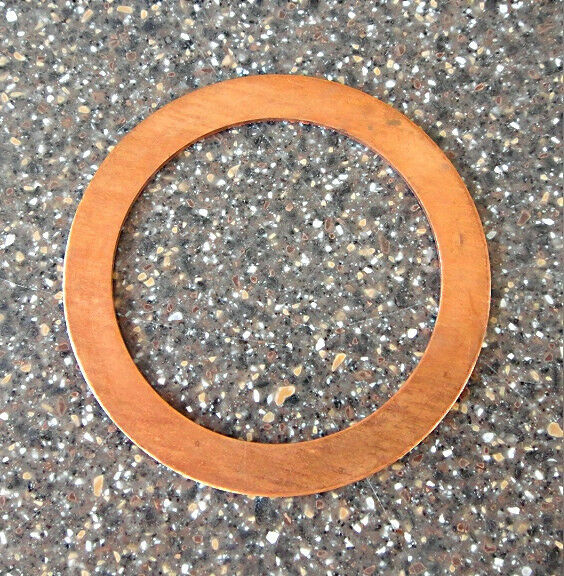 FORD SMALL BLOCK V8 BRASS THRUST WASHER FOR DUAL IDLE GEAR