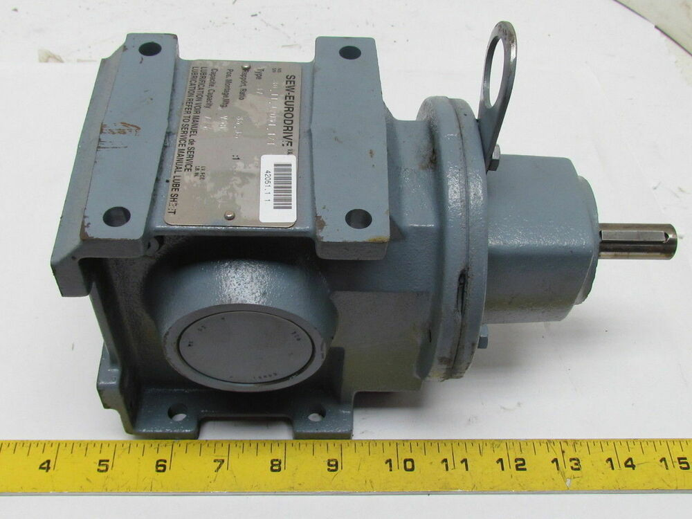 Right Angle Transmission : Sew eurodrive s right angle helical worm gear reducer