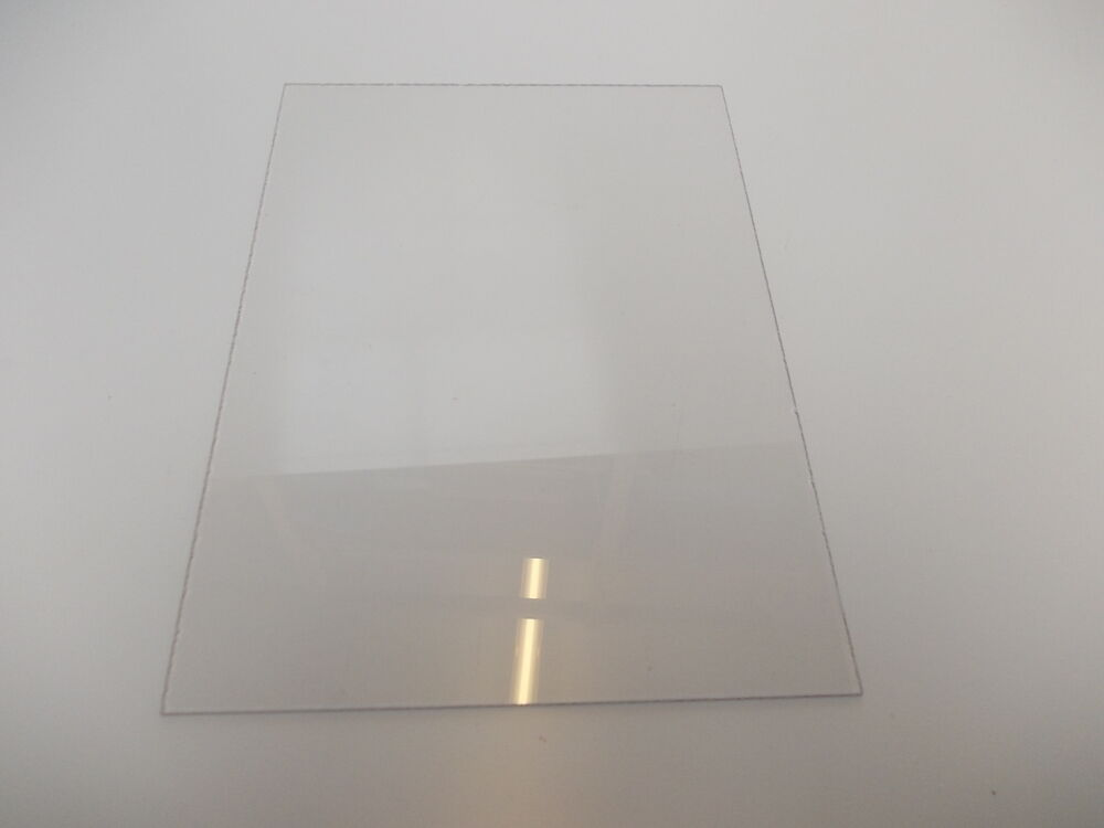 100x100mm Clear Acrylic Sheet Plastic 3mm Perspex