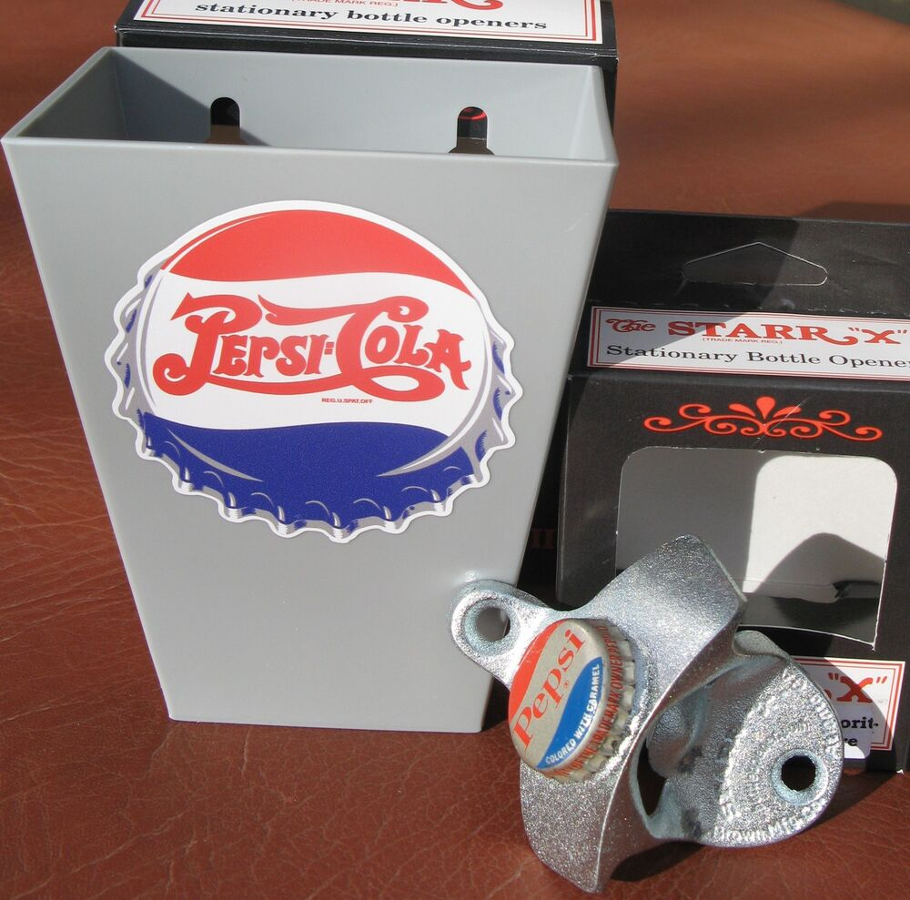 Pepsi Cola Soda Decal Cap Catcher Amp Custom Bottle Opener