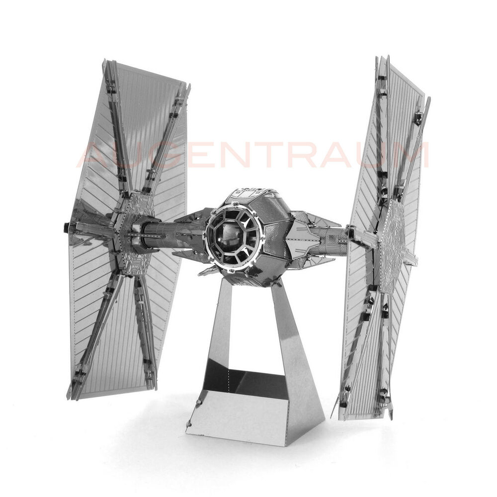 tie fighter star wars metal earth 3d metall bausatz mms256 neu ebay. Black Bedroom Furniture Sets. Home Design Ideas