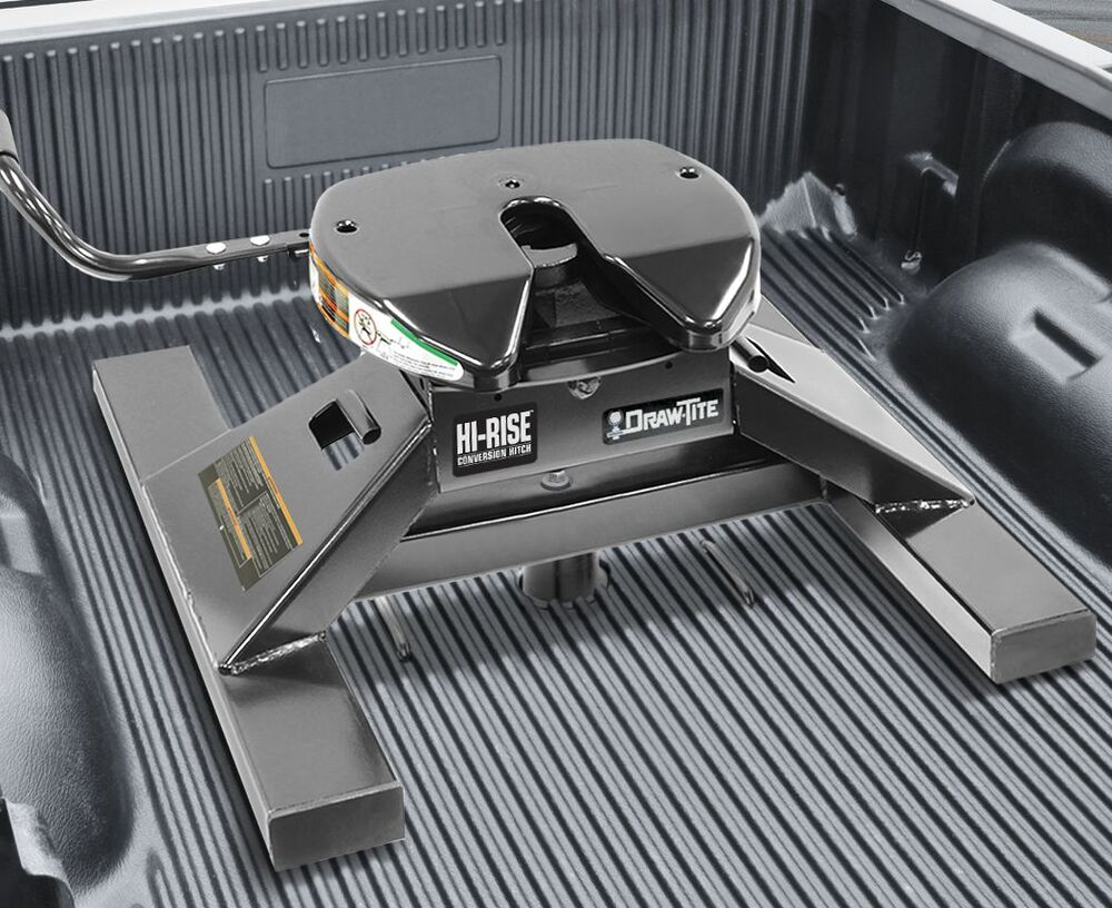 Curt Fifth Wheel Hitch >> DRAWTITE UNDERBED GOOSENECK TO FIFTH WHEEL CONVERSION ADAPTER HITCH 18K FITS B/W 742512094800 | eBay
