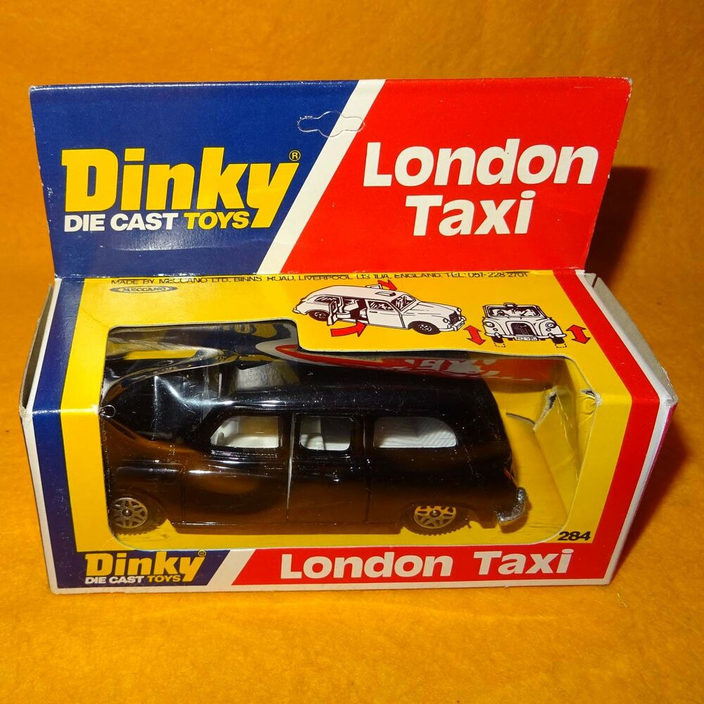 vintage 1977 meccano dinky toys 284 london taxi diecast vehicle boxed rare ebay. Black Bedroom Furniture Sets. Home Design Ideas