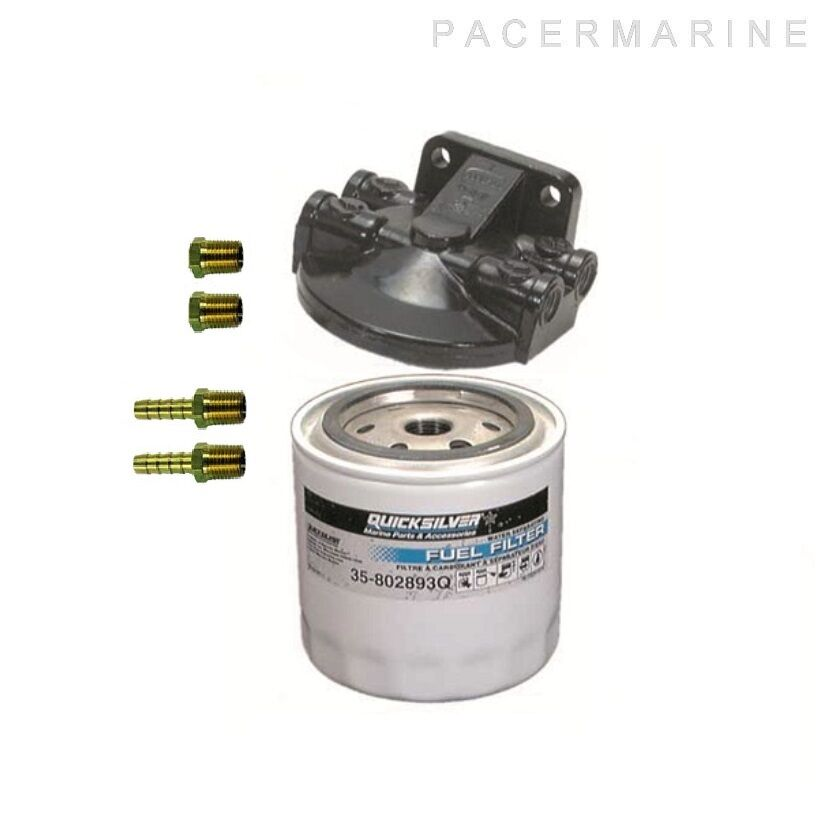 QUICKSILVER 5 16 ALL OUTBOARD WATER SEPARATING FUEL FILTER