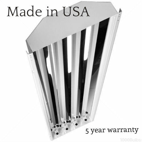 4 Lamp High Bay Linear Fluorescent High Output T5 Light