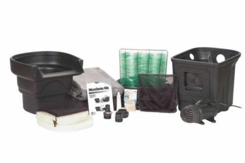 Aquascapes micropond kit 8 39 x 11 39 1000 gallon pond ebay for 100 gallon pond pump