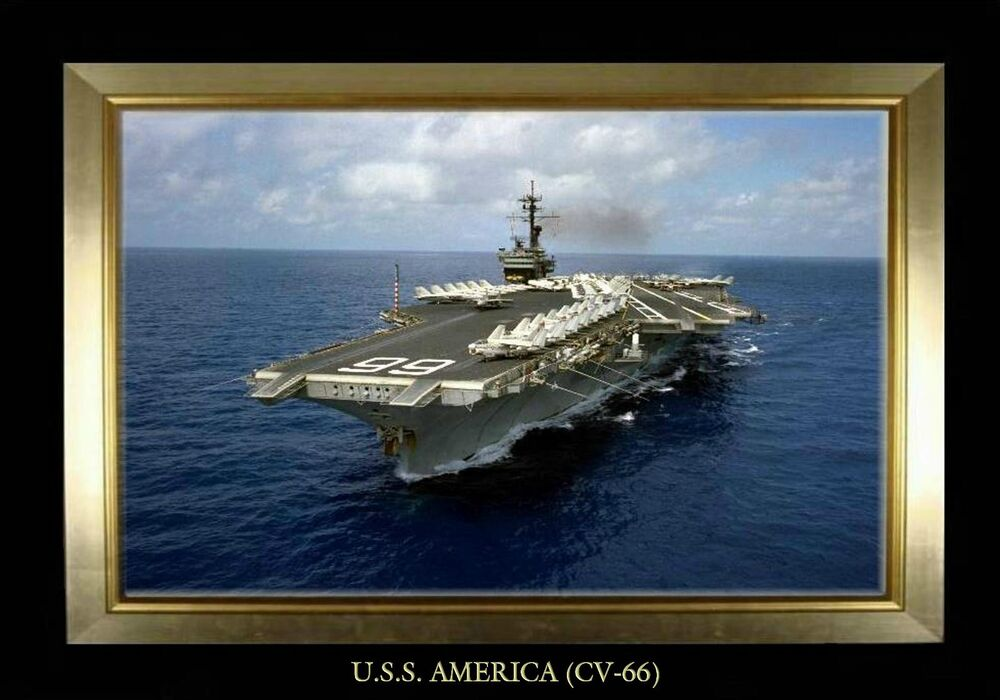 photo magnet us navy aircraft carrier uss america cv