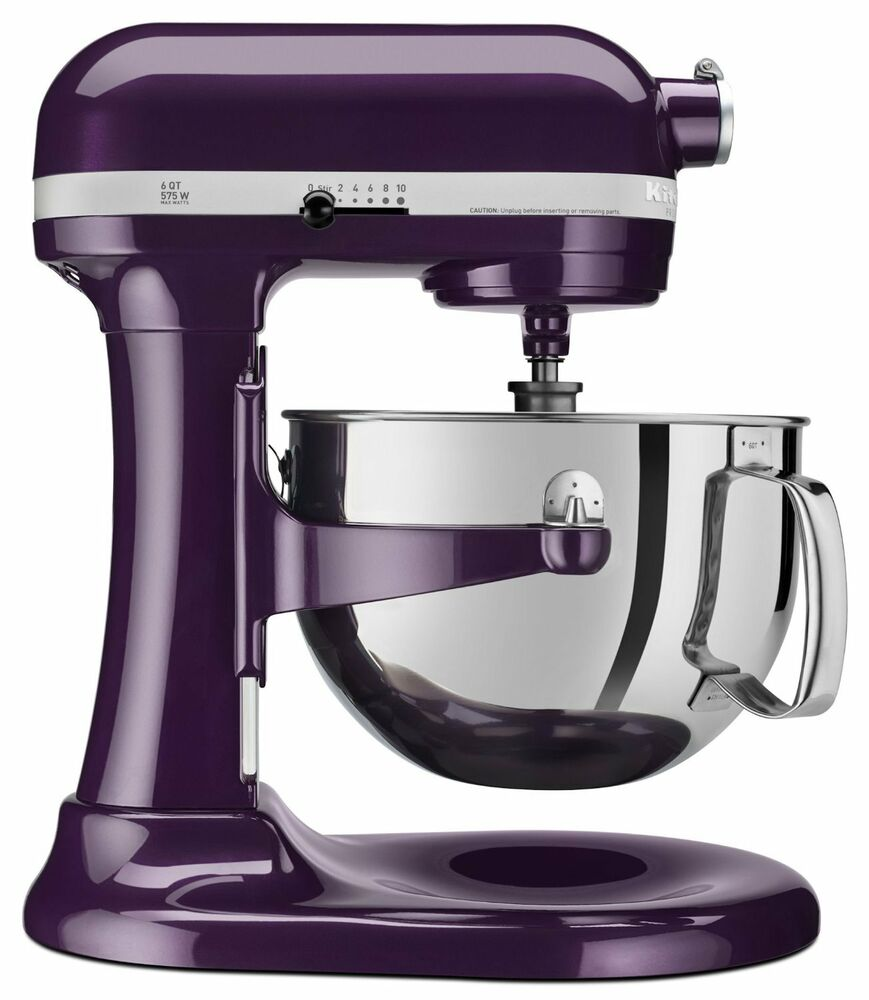 New Kitchenaid 600 Capacity 6 Quart Pro Stand Mixer