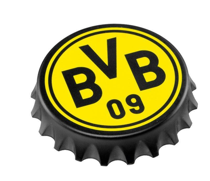 bvb flaschen ffner emblem borussia dortmund bvb neu ebay. Black Bedroom Furniture Sets. Home Design Ideas