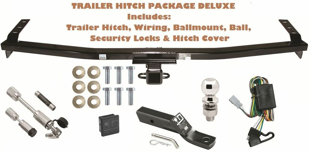 01 06 acura mdx trailer tow hitch pkg deluxe w wiring. Black Bedroom Furniture Sets. Home Design Ideas