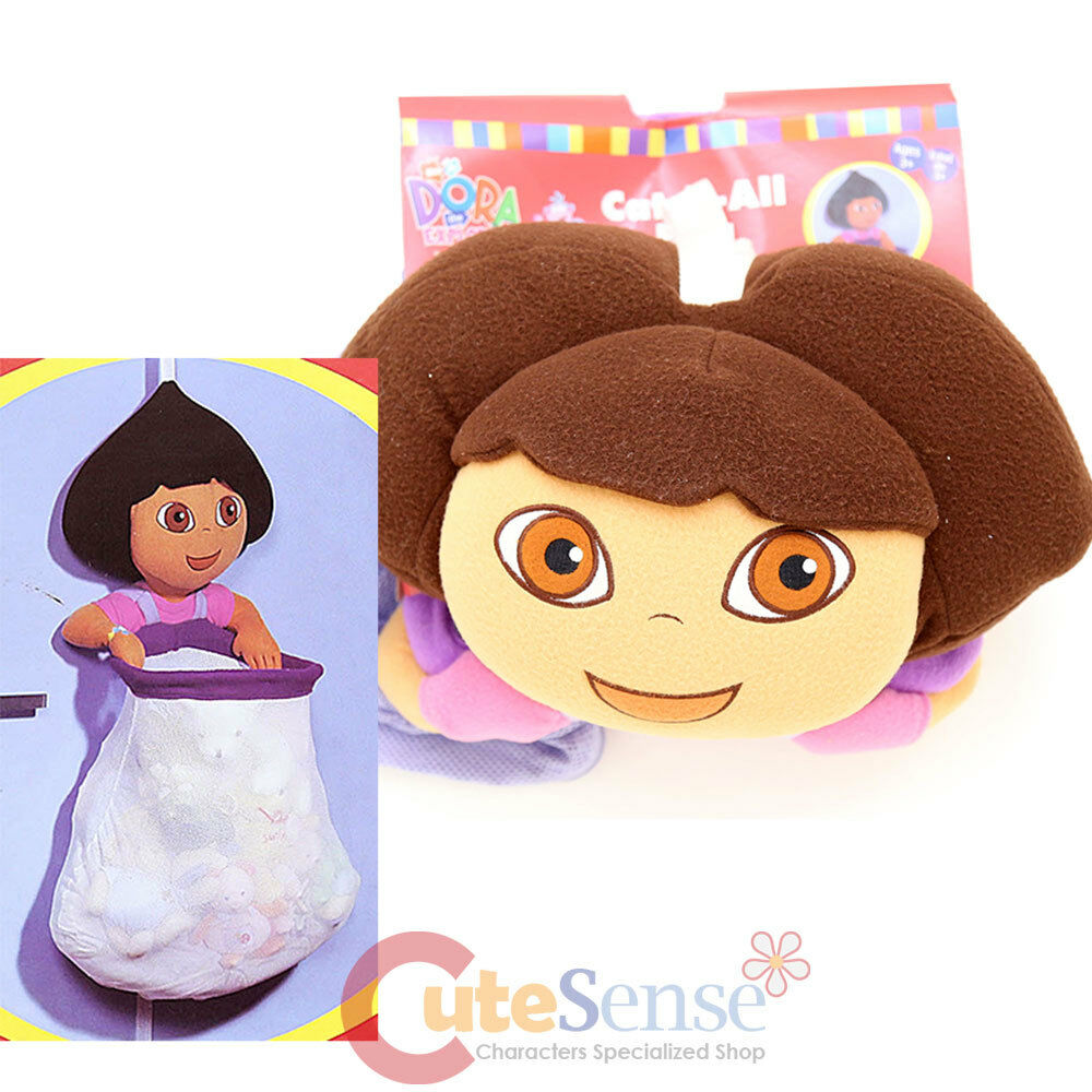 All Dora Toys : Dora the explorer catch all bag with large plush doll