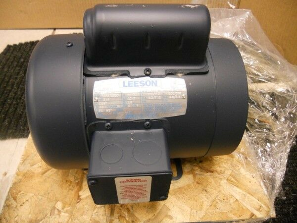 New Leeson 3 4hp Electric Motor 3450 2850 Rpm