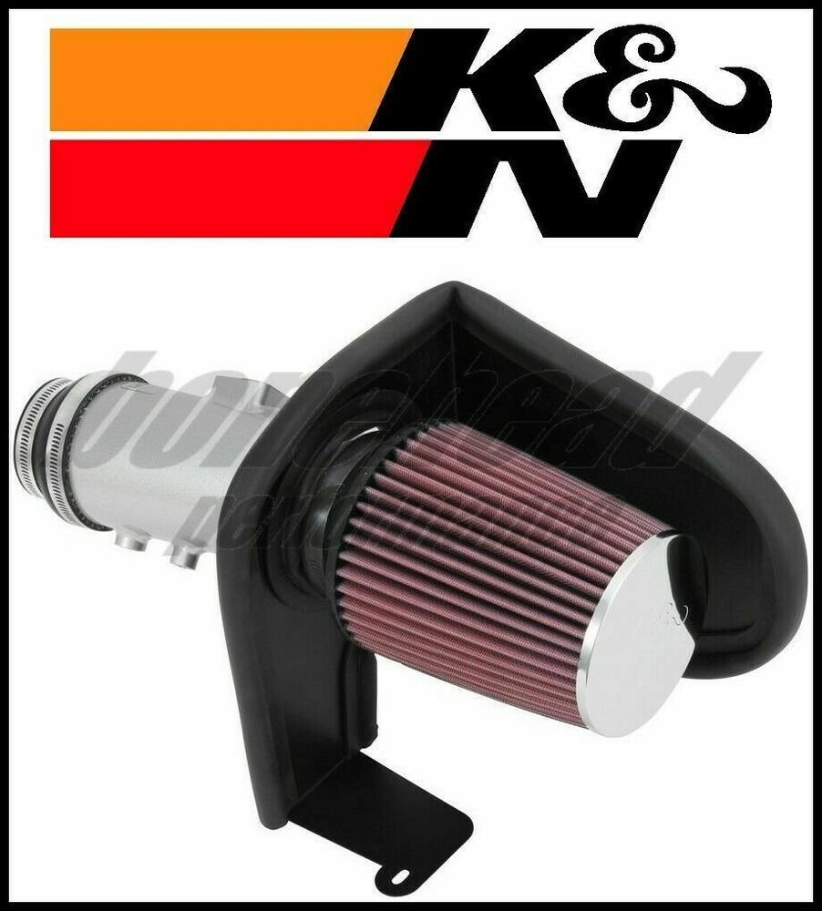 K&N PERFORMANCE SILVER TYPHOON AIR INTAKE SYSTEM 2013-2016