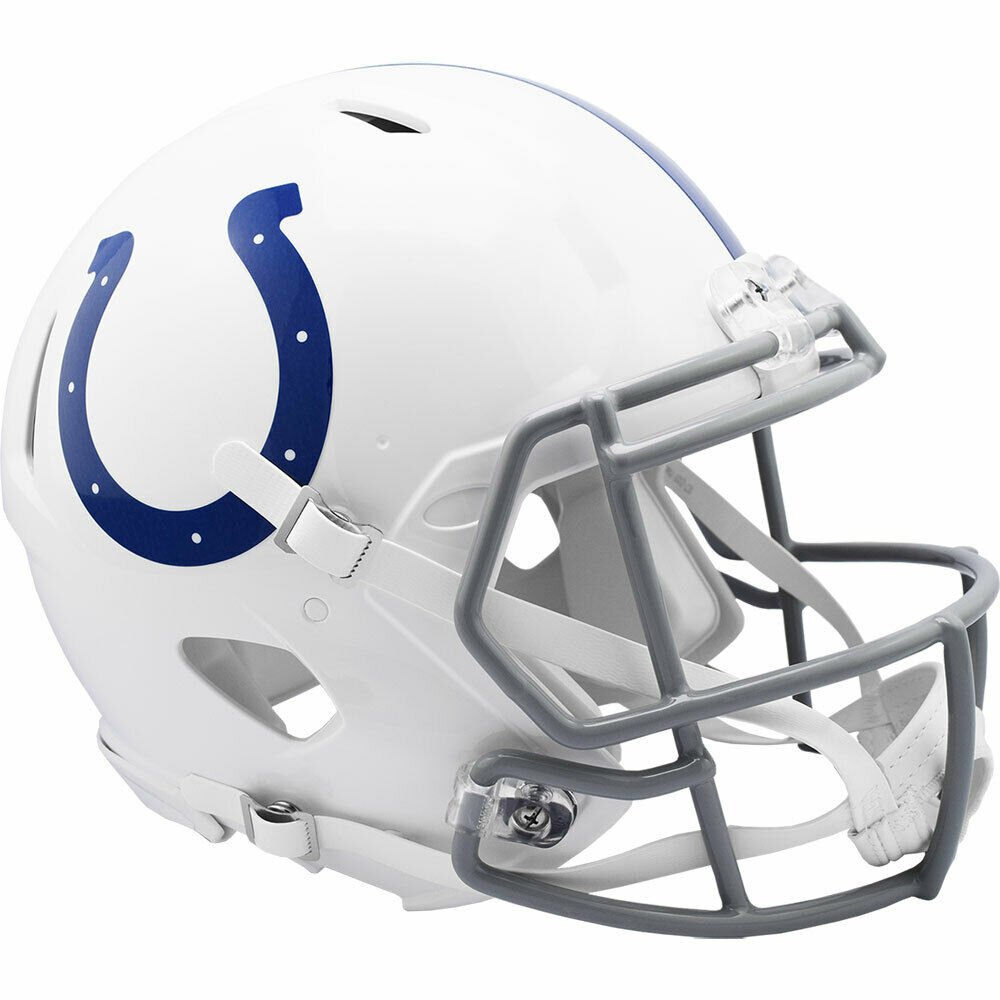 INDIANAPOLIS COLTS RIDDELL NFL FULL SIZE AUTHENTIC SPEED ...