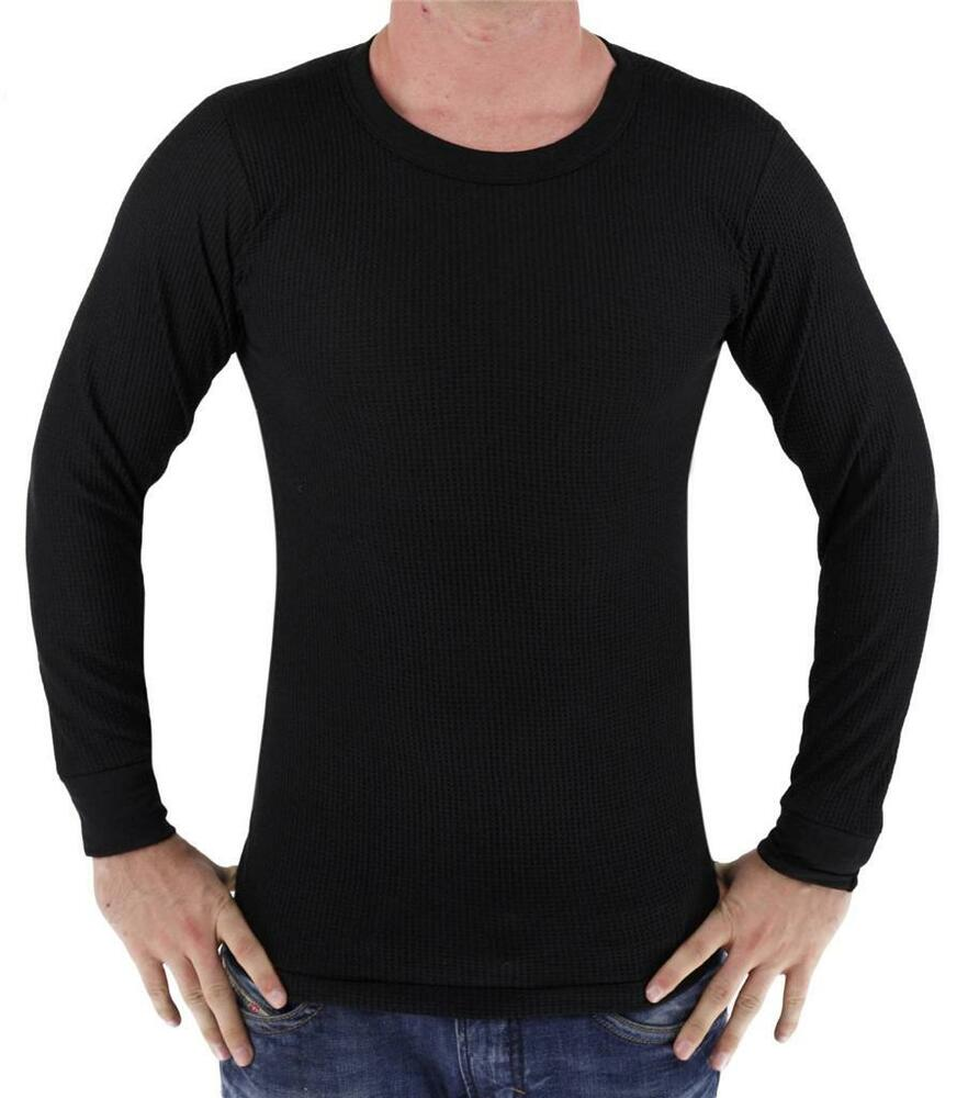New byc men 39 s premium long sleeve thermal underwear heavy Thermal t shirt long sleeve