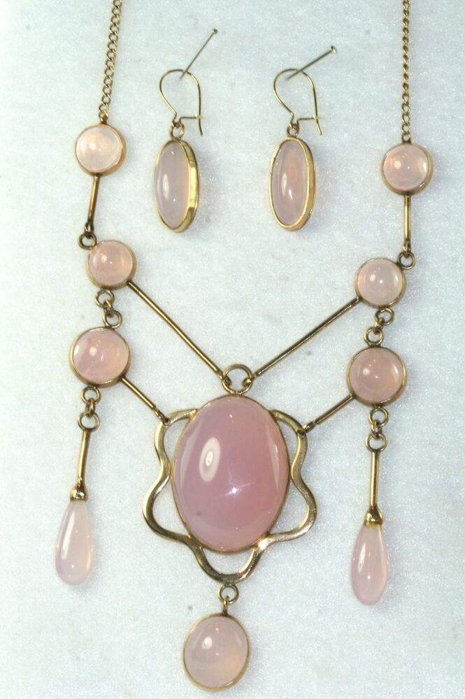 pink moonstone jewelry vintage - photo #2