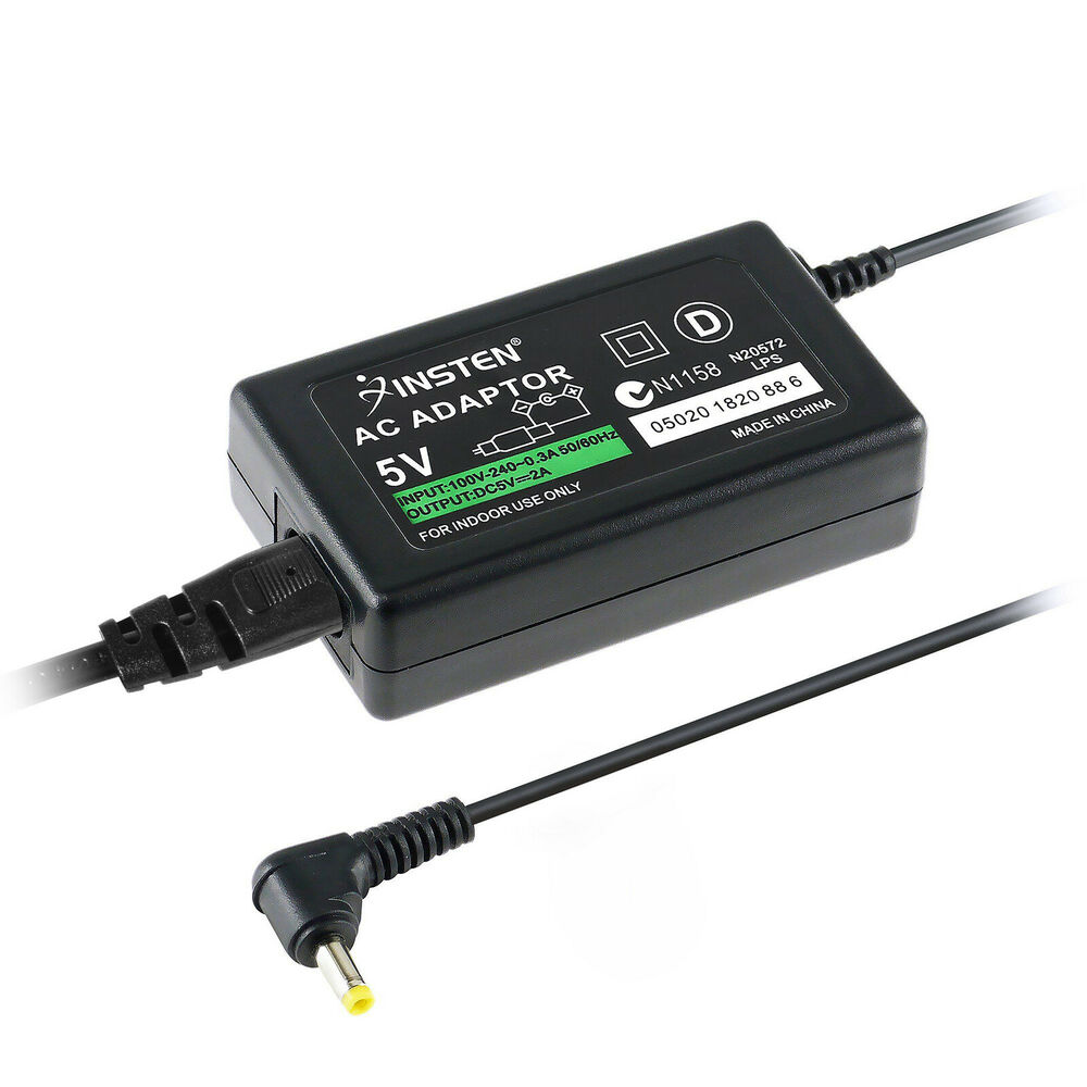 Ac Adapter Home Wall Charger Power Supply For Psp 1000