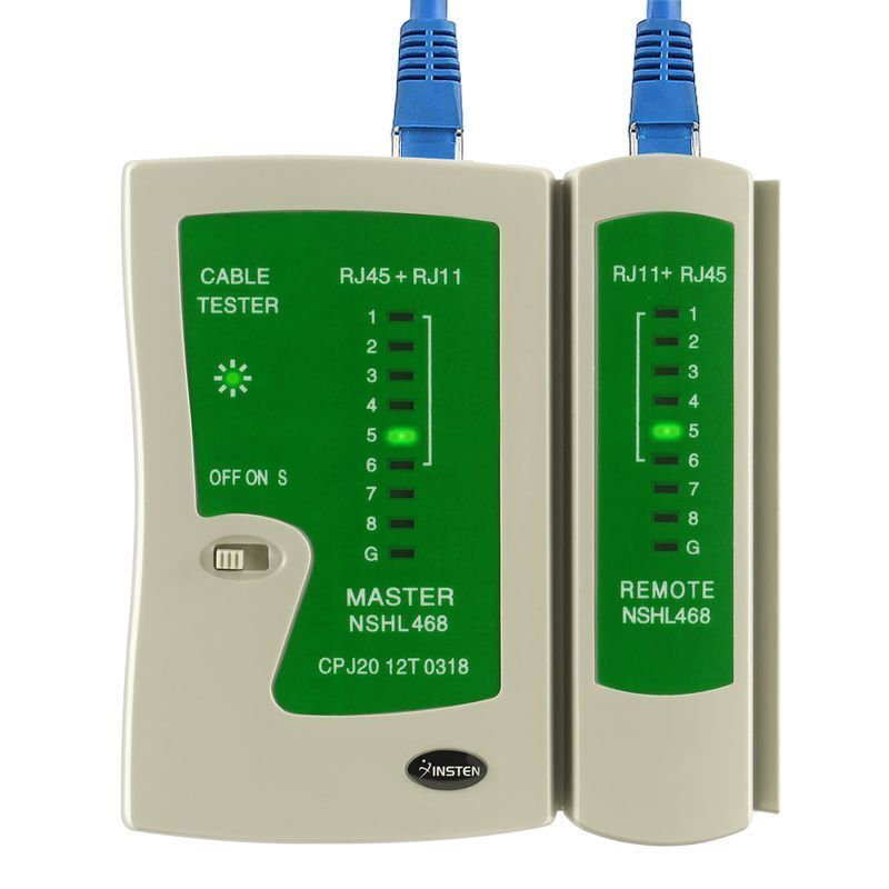 Network Cable Tester : Rj cat e network lan cable tester test tool ebay