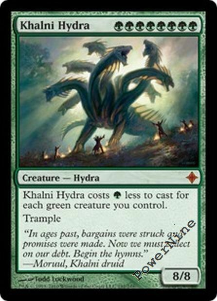 1 Khalni Hydra - Green Rise of the Eldrazi Mtg Magic ...