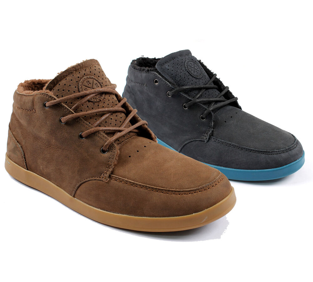reef spiniker mid mens fashion casual shoes tbf