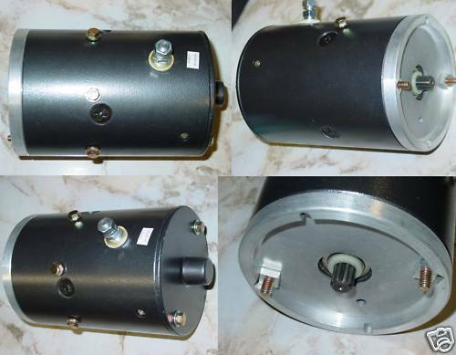 Hydraulic Lift Motor : Blizzard snow plow motor new snowplow pump lift gate