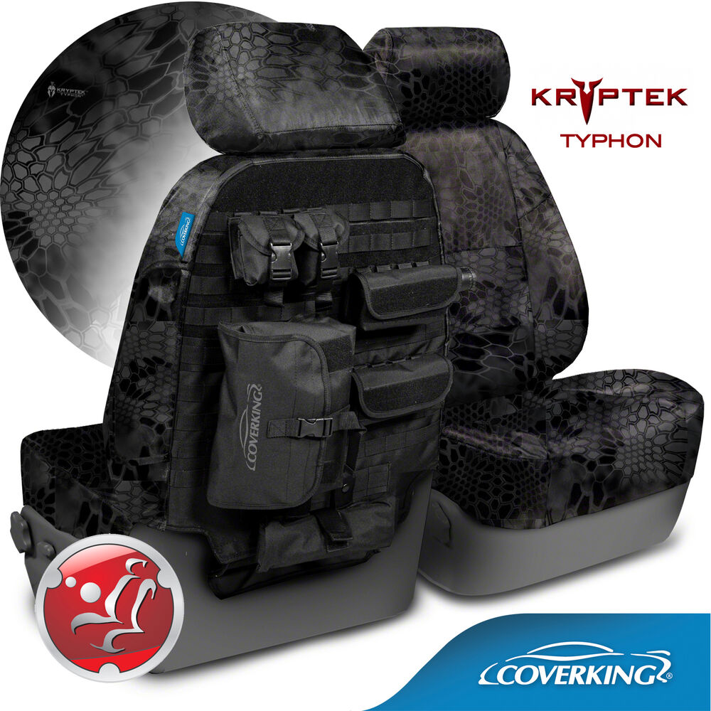 Coverking Kryptek Typhon Camo Tactical Front Seat Covers