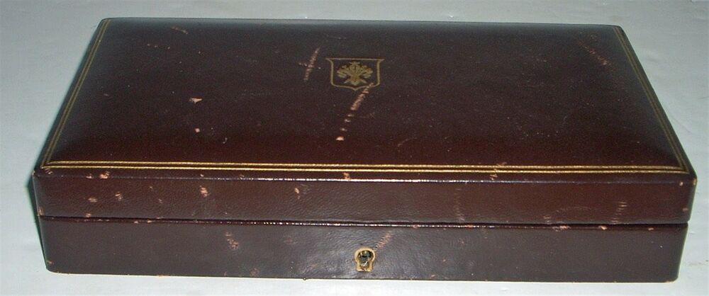 Vintage italy leather box