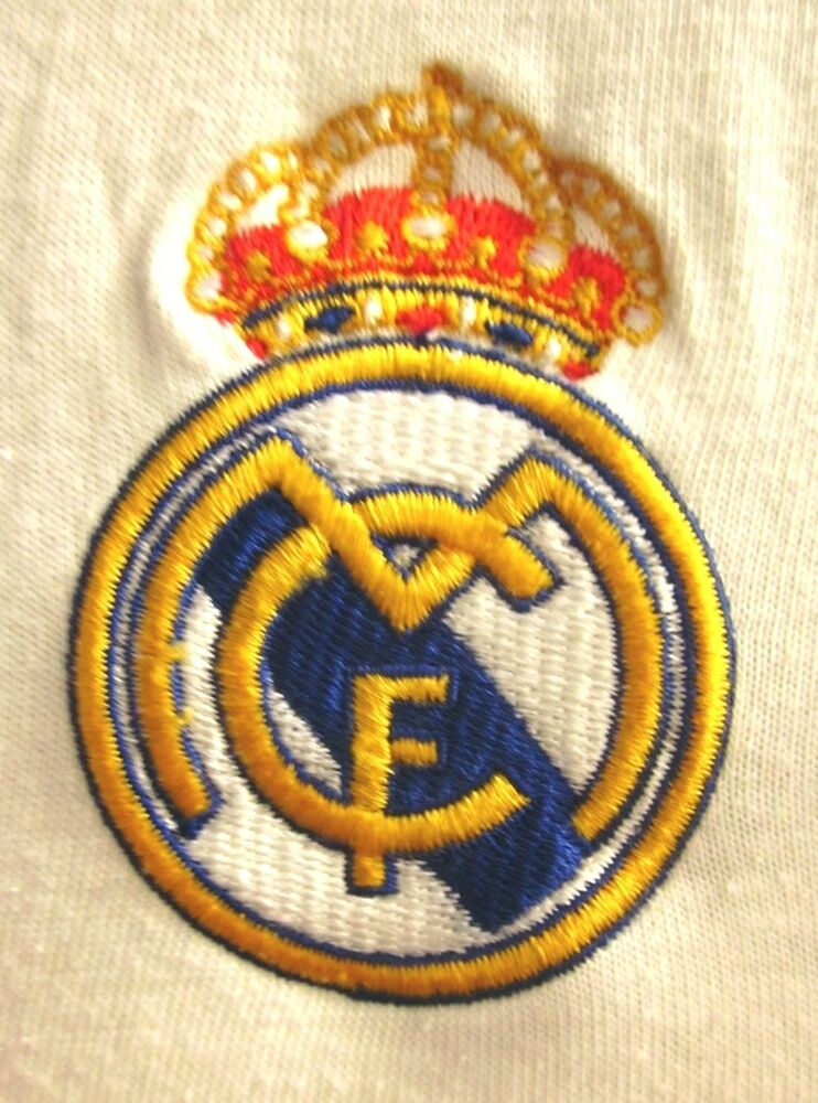 Real madrid soccer jersey uefa med t shirt football club embroidery