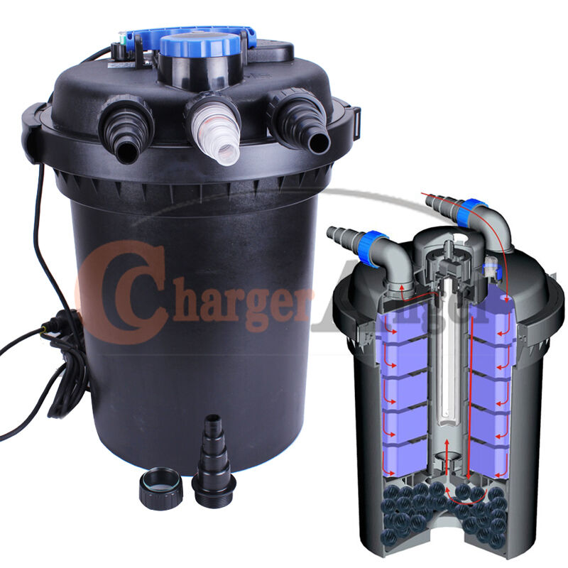Outdoor fish pond filter outdoor free engine image for for Small pond uv filter
