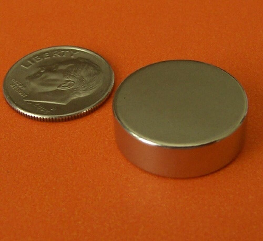 5 strong 3 4x1 4 rare earth neodymium disc magnet grade n42 ebay. Black Bedroom Furniture Sets. Home Design Ideas