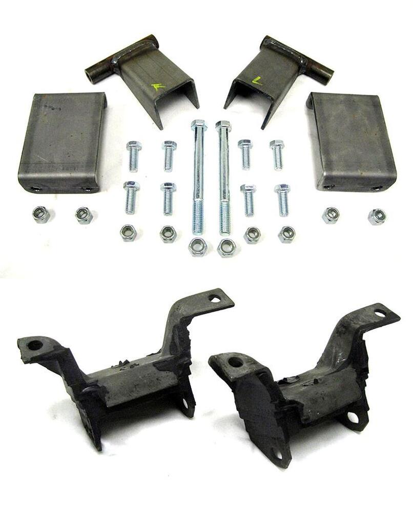 Small Engine Mounting Brackets : Small block ford mustang ii rubber motor mounts