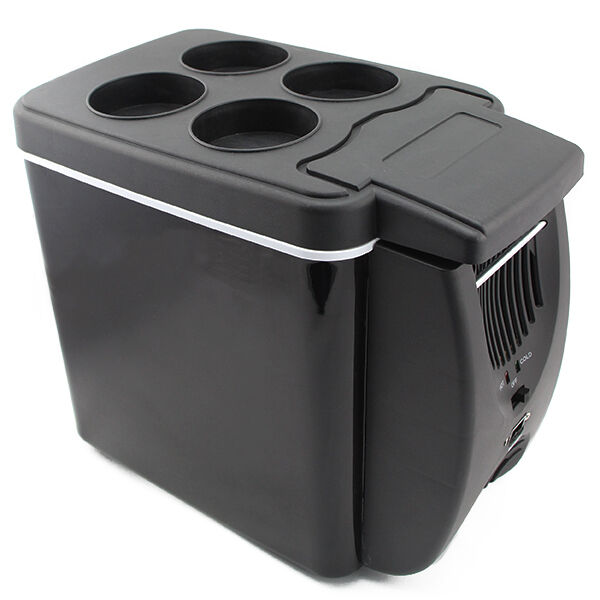 Portable 12V Car Fridge Travel Camping Boat Truck Refrigerator Cooler Warmer-6L | eBay