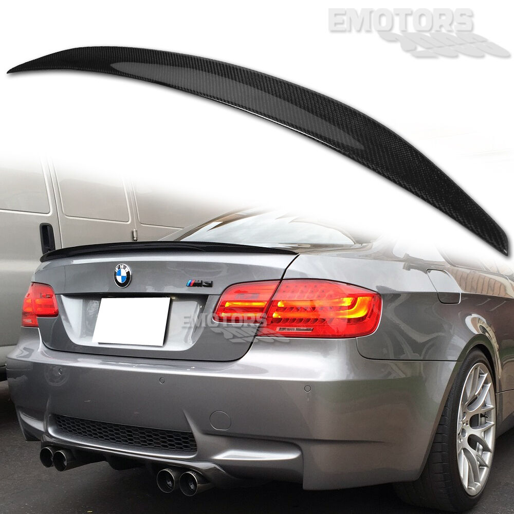 carbon bmw e92 coupe low kick performance trunk spoiler. Black Bedroom Furniture Sets. Home Design Ideas