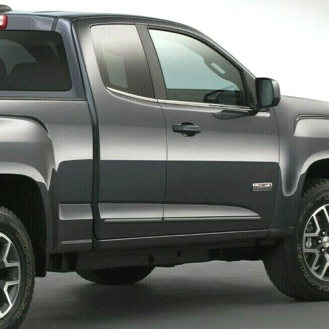 GMC CANYON EXTENDED CAB Painted Body Side Mouldings