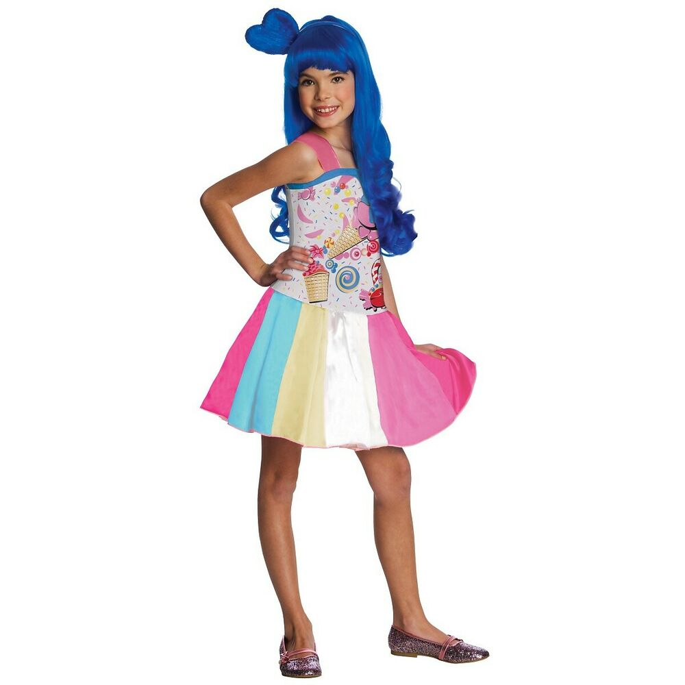 Katy Perry Costume Kids California Gurls Candy Halloween