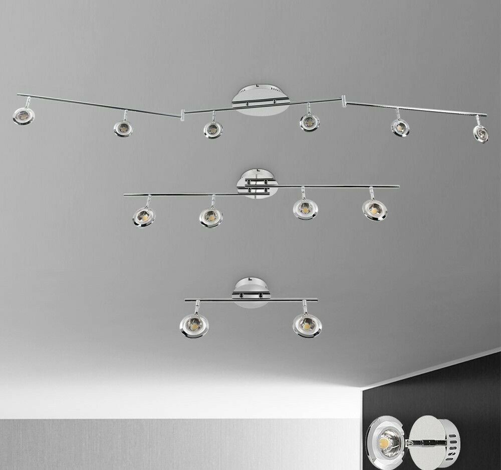 led deckenstrahler spot gu10 hightpower deckenlampe wandlampe strahler s3510 ebay. Black Bedroom Furniture Sets. Home Design Ideas