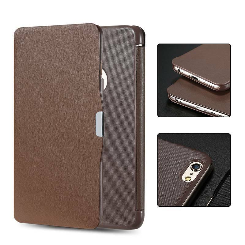 ... Ultra Thin Slim Cover Bumper Magnetic Case For iPhone Samsung : eBay