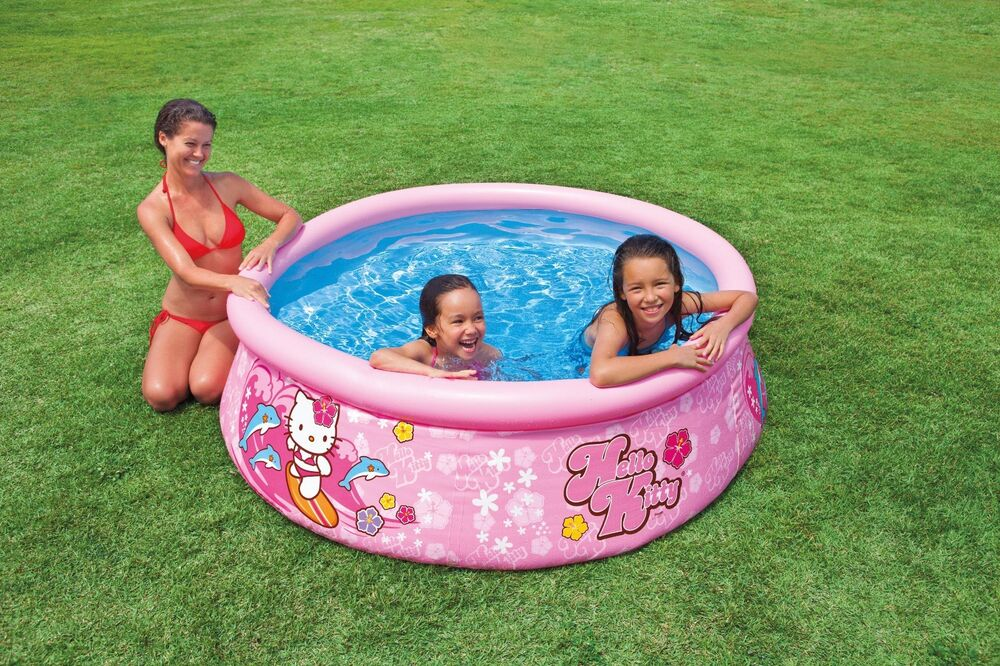 Intex 6 39 X20 Easy Set Pool Hello Kitty Above Ground Swimming Pool Ebay