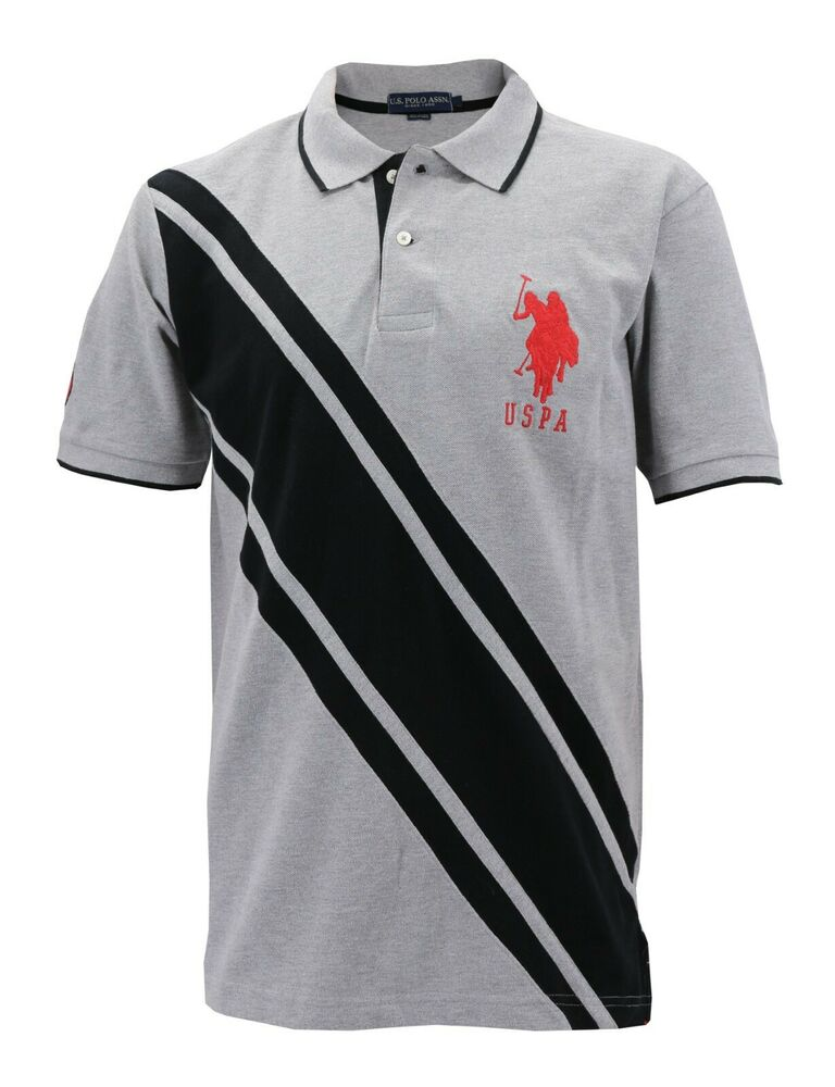 New us polo assn men 39 s premium athletic classic cotton for Us polo shirts offers