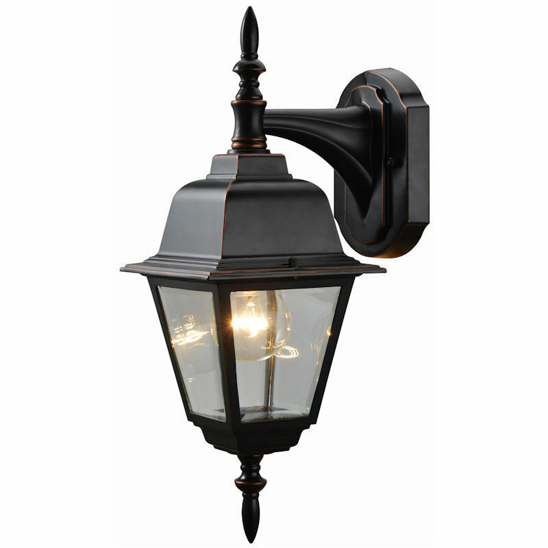 Hardware House Oil Rubbed Bronze Patio Porch Outdoor Light