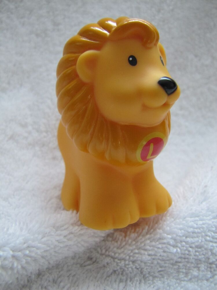 "Z Fisher Price LION ""L"" Fis..."