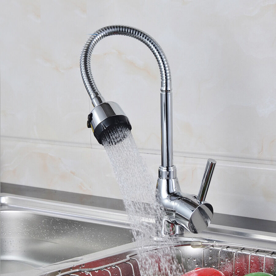 Wash Basin For Kitchen : ... Plated Water Tap Faucet Basin Kitchen Bathroom Bath Wash Basin eBay