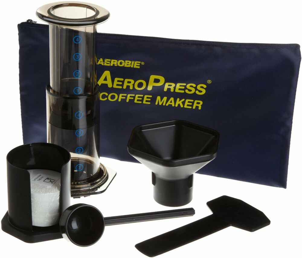 Aeropress Coffee Maker Aerobie : Aerobie AeroPress Coffee Maker with Tote Bag, New, Free Shipping eBay