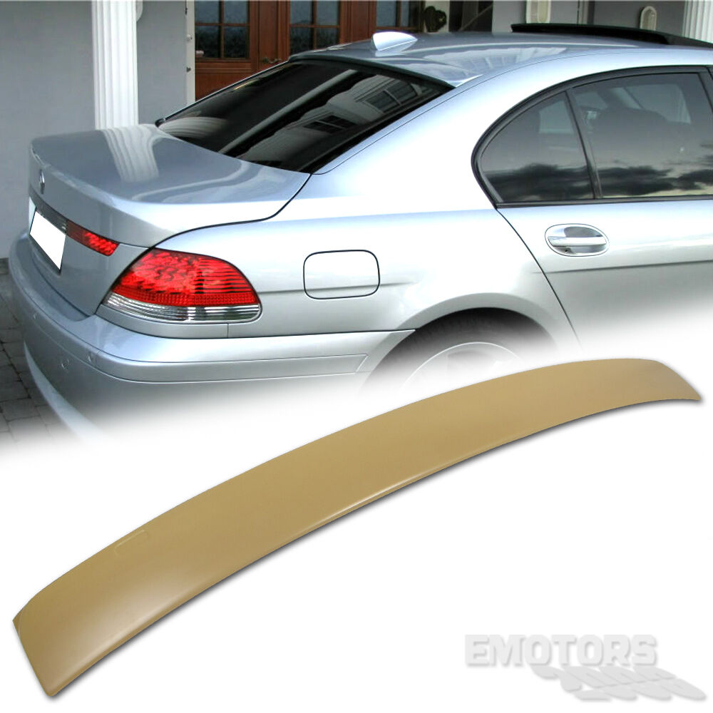 bmw e65 7 series 4d sedan a type rear roof spoiler wing 750i 745i 760li 02 08 ebay. Black Bedroom Furniture Sets. Home Design Ideas