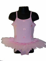 New Girls Pink Ballet Dance Tutu Dress 2-3 Years