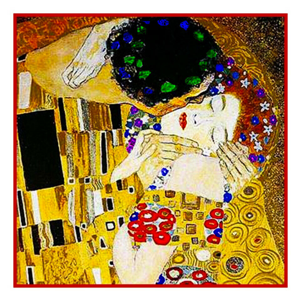 an analysis of the klimts art the kiss Adele bloch-bauer was an avid art patron at the centre of vienna's cultural life and when she sat for a portrait by gustav klimt,  blissed-out woman in the kiss.
